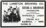 The Lambton Brewing Co