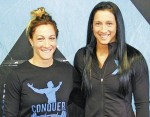 Sisters Jenine White and Kristine Andali are headed to the regional Canadian CrossFit finals in Toronto. Barry Wright