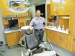 Dr. Michael Rocca has opened a new dental clinic at Michigan and Front streets. Cathy Dobson