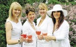 The organizers of 'Dinner in White Bluewater' are, from left, Kelly-Lynn Musico, Wendy Ghorbril, Marinka Modderman and Tracy Jutras. Submitted Photo