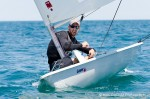 Daniel Barry, 21, of Petrolia, men's olympic class practice day for Sailfest held at the Sarnia Yacht Club.