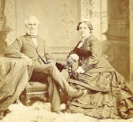 Alexander Vidal, posing here with wife Catherine in 1873, was the son of Sarnia founding father Richard Emeric Vidal.