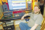 Adam Miner, 35, is the owner of DNA Music Recording Studio on Christina Street. Glenn Ogilvie