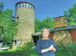 "The ""Silo Home"" of Patti and Doug Grant in Bright's Grove is sometimes mistaken for a lighthouse. Glenn Ogilvie"