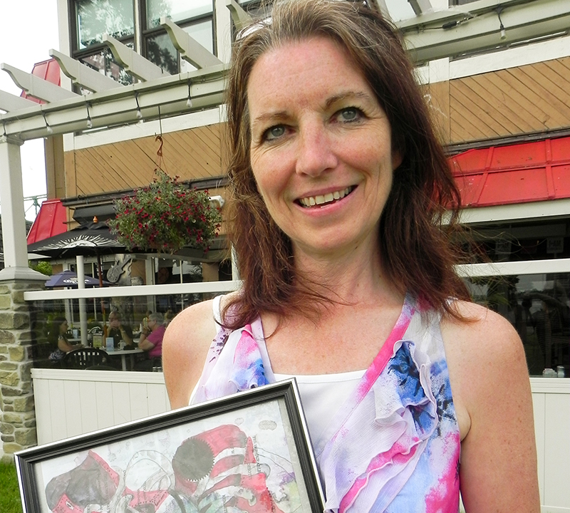 Paint Battle To Aid Budding Female Artists