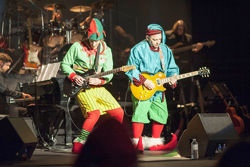 sets buds and rock n roll for christmas - Rock Christmas