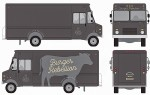 A mockup of the burger truck about to appear in downtown Sarnia this month. Submitted Image