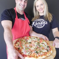Dan Di Cocco and Kerry Kulak, owners of the new Rondo`s Pizza Plus on Rosedale Avenue. Cathy Dobson