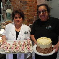 Kathy Dhillon, left and Rashpal Gill are co-owners of the new Vanilla Bean Bakery and Café. Cathy Dobson
