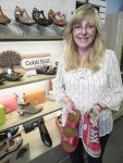 Deb Hartwick, owner of the new Deb's Shoe Gallery on Lakeshore Road. Cathy Dobson