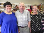 A Taste of Britian at 580 Murphy Rd. is co-owned by Ron Hayhow, flanked by assistants Karen Tobin, left, and Elaine Dwyer. Cathy Dobson