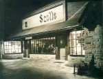 Business at Scott's flourished during the boom decades of local industry. Submitted Photo