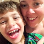 Lucien and his mom, Jessica Nadeau