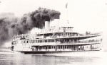 The smoke-belching cruise ship the S.S. Tashmoo was once a familiar sight to Sarnians. Photo courtesy of Sombra Museum