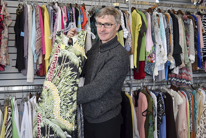 Bob McGregor, owner of Labels for Less, has relocated his longtime business. Cathy Dobson