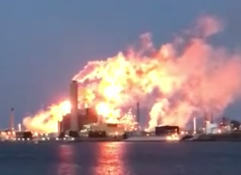 Operating issue causes flaring at Imperial Oil