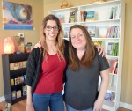 Sandy Moreira, left, and Angela Melnyk are co-owners of the new Mystic Mind Metaphysical store. Cathy Dobson