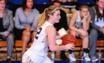 St. Pat's grad Caroline Hummell just finished her third year playing basketball for Mount St. Mary's  University in Emmitsburg, Maryland. (Mount St. Mary's Athletics)