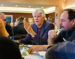Don Ciparis, with the National Farmers Union, brought attention to dredging practices, that have shown to have dramatic impact on displacing sediment throughout the Great Lakes.