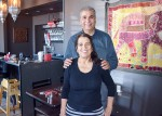 Manjit Singh and Balwinder Kaur, owners of Sitara Indian Cuisine. Cathy Dobson