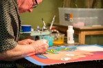Sarnia artist David Moore participating in a previous Art Attack. Next one is May 5 at 100 Christina St. Submitted Photo