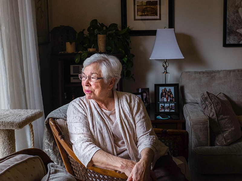 Aamjiwnaang First Nation elder and residential school survivor Geraldine Robertson has been nominated for the Order of Ontario, the province's highest honour. Troy Shantz