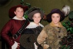 The Three Musketeers, from left, Ryan Godwin, Ryan Oliver and Owen Layne, take the stage May 5-6. Submitted Photo