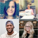 Lauren Crighton, top left, will join panelists Emily Ager, top right, Dan Edwards, bottom left, and organizer Danielle Cooper, bottom right, for the next instalment of Sarnia Speaks on May 10 on the topic of resiliency.
