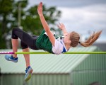 Ella Sottosanti won a silver medal in midget high jump at the OFSAA Track and Field Championhsips in Belleville, Ont. on June 2. Bruce Smith, Special to The Journal