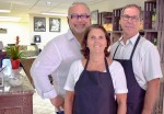 Andre Proia and Nicky and Randy Coady of the new Alfredo Pasta Boutique & More. Cathy Dobson