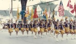 Sarnia's famed Lionettes, seen here marching in Frankenmuth, Michigan, won honours at numerous competitions through the 1950s and '60s. Submitted Photo