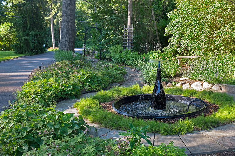 The Lakeshore Road property of Linda and Angus Black is one of eight stops on this year's Garden Tour. Troy Shantz
