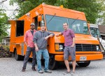 Mad Tacos founders, from left, Chad Pelchat, Marc Piquette and Dan Romphf. Troy Shantz