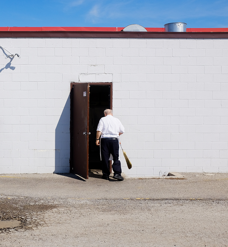 """One of Shantz's images, from the series, """"Oil Heritage"""""""