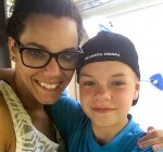Stacey Regimbald and her son Cody.  Submitted Photo