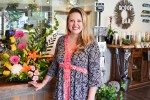 Paulina Dillon at the new Paulina's Flower Shoppe on Murphy Road. Cathy Dobson